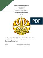 Analysis of Management Company Kfc_2