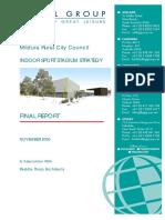 Indoor Sport Stadium Strategy Final Report November 2009