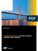 4HANA and SAP Ariba Solutions