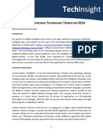 Tech Insight Gartner Tech Trends 2018