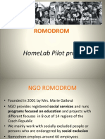 Warsava_Romodrom Pilot Presentation