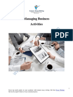 How to Manage Business Activities to Get Desire Results