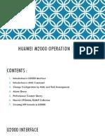 Huawei U2000 Data Collection_update