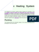 Hydronic Heating System Design