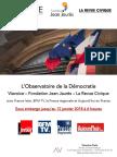 L'Observatoire de La Démocratie. Janvier 2018