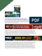 Bursa Judi Online Penyedia Permainan Terlengkap
