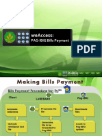 WeAccess PAG-IBIG Bills Payment - 18JUNE2014