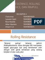 Presentasi Grade Resistance, Rolling Resistance, Dan Rimpull