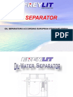 Oilseparators According EN858