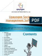 Upayogee Society Management Software-brochure