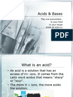 Acid and Base