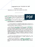 Chromatographie sur gel UJF