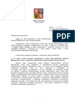 Odpověď MV - Reorganizace ZZMV
