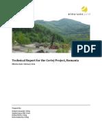 Technical Report - Certej (Feb 2014)