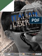 Manifesto 1° Concorfo fotografico Italian Liberty