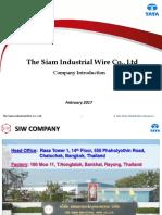 SIW Company Introduction - Feb 2017
