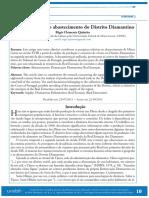A Real Extração e o abastecimento do Distrito Diamantino