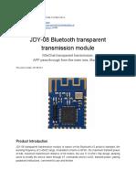 Copia Di JDY-08 Bluetooth LE Module Datasheet