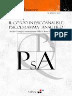 n3 Quaderni Psicoanalisi Psicodramma Analitico 2010