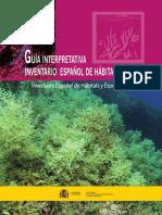 Guia Interpretativa Inventario Español de  Habitats Marinos (Publicación del Ministerio de Agricultura, Pesca, Alimentación y Medio Ambiente. España)
