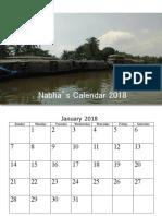 Nabha 2018 Calendar V1