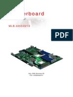Altus 1600 Motherboard 1