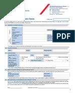 SmartDrive Private Motor Insurance Claim Form Eng