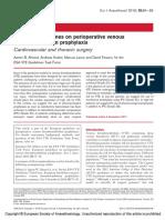 European Guidelines on Perioperative Venous.3