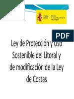 Ley de Protección y Uso Sostenible del Litoral y modificación de la Ley de Costas.pdf
