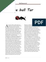 Bosnian Mythology - Divine Bull Tur