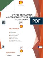 Slide Presentation of Cfa Installation (Benisede) Final 04-04-16-1