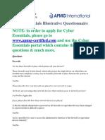 Ce Illustrative Questionnaire Web Version