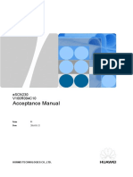 Bolivia CBB Project Acceptance Manual - ESCN230 V1.0---Es