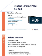 Webinar Landing Pages Bly