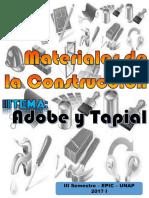 10 Adobe y Tapial