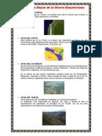Principales Hoyas de La Sierra Ecuatoriana