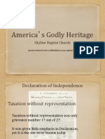 America s Godly Heritage