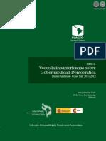Voces Latinoamericanas Sobre Gobernabilidad - Tomo II - Jose Miguel Angel Verdecchia - Ano 2013 - Portalguarani