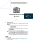 Higher Education Act 2004