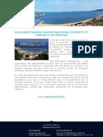 Excellente Saison Touristique Pour l'Estartit Et Torroella de Montgrí