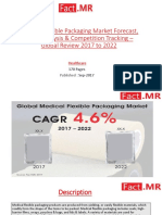 Medical Flexible Packaging Market Perspective with Comprehensive Analysis, Size, Share, Growth, Trends and Forecast, 2017-2022
