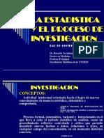 01. Estadística y El Proceso de Investigación.