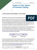 FOA Penalización de Potencia Para La Mezcla 50_125 y 62,5 _ 125 Fibras