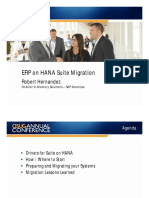 3912 ECC on HANA Suite Migration