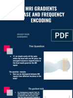 Mri Gradients Phase and Frequency Encoding