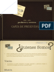 Cartadepresentacionmkns 140324135232 Phpapp02 (1)