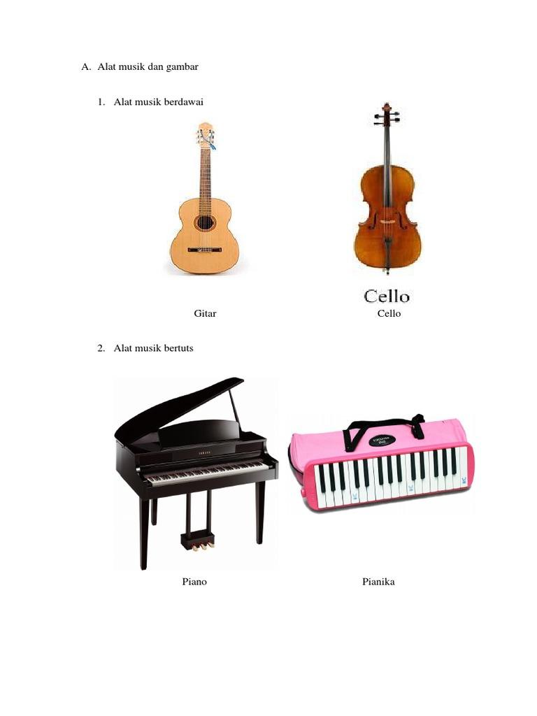 Alat Musik Dan Gambar