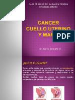 Cancer Cuello Uterino y Mama Final