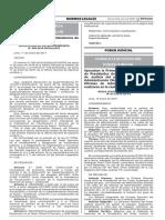 Res. Adm. N° 013-2018-CE-PJ