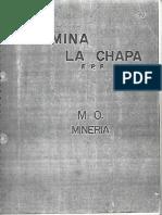 Mina La Chapa